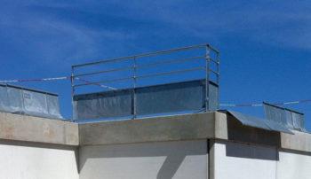 Barrières de sécurité en acier galvanisé semi plein